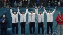 US Drinking Team Wins Gold and still able to stand