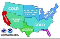 US Weather be like
