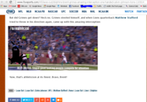 User on rnfl creates a gif then edits it after Fox Sports used a direct link to it on their website