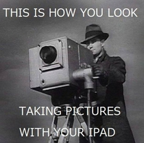 Using your Ipad to take pics