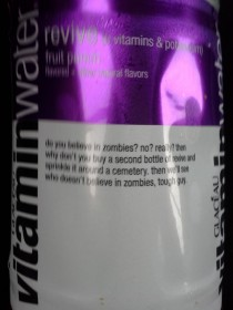Vitamin Water you have made my day even better Thank you