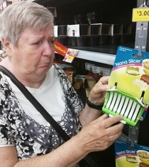 Walmart has some terrifying products Nana wasnt too happy about it