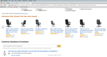 Was researching desk chairs when I ran into this question and response