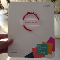 Was so excited for my free D printed bracelet from Google - thats not my name