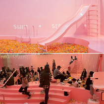 Was told this would be a better fit here Sprinkle pool at the museum of ice cream Dragged in by the girlfriend and lead the fucken way out of this nightmare