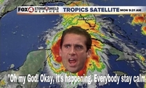 Watch out for Hurricane Michael Scott