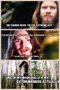 Watching Discovery Channels new series Alaskan Bush People This guy has Dwight Schrute written all over him