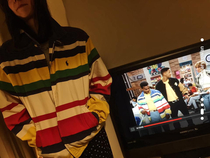 Watching Fresh Prince when all of a sudden Carltons jacket looked very familiar