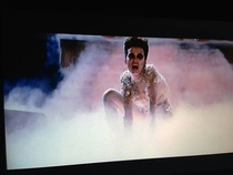 Watching Ghostbusters and daughter says look its Miley