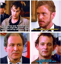 Watching Ghostbusters This has to be my favorite part
