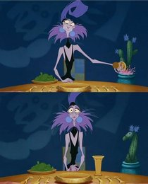 Watching The Emperors New Groove and noticed the cactus