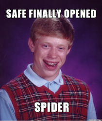 We are all Bad Luck Brian today