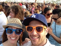 We got photobombed by Aaron Paul Jesse pinkman from breaking bad at Coachella yesterday