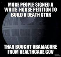 We really want a deathstar