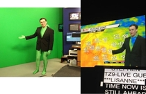 Weatherman wears best Halloween costume ever