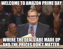 Welcome to Amazon Prime Day