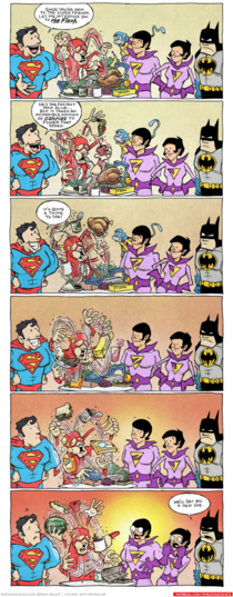 Welcome to the Super Friends