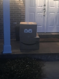 Well played UPS man well played