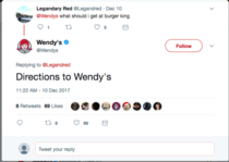 Wendys dishing out grilled meat
