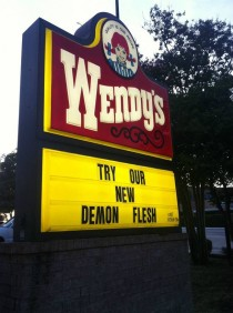 Wendys new meat sounds awsome