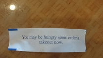 Went to Chinese lunch with my coworkers this was one of their fortunes