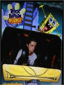 Went to the Mall of America last week and had a great time on the roller coaster with all my friends