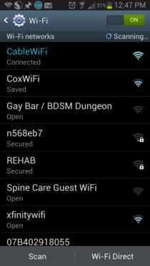 Went to the physical therapist today and was looking for wifi wasnt expecting this however