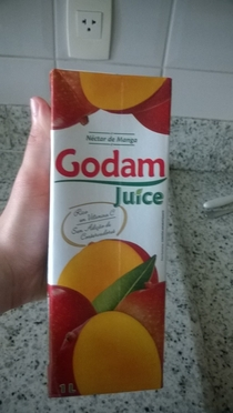 Went to the store and got me some godam juice