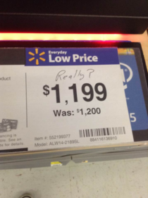 What a bargain