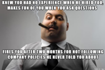 What company policies