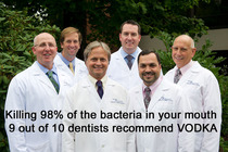 What Dentists actually recommend