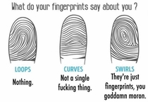 What do your fingerprints say about you