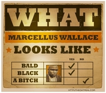 What does Marcellus Wallace look like