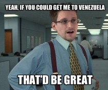 What Edward Snowden must be thinking right now