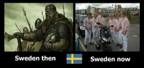 What happened Sweden