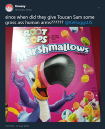 What Happened to Toucan Sam