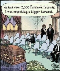 What I expect funerals in the near future to be