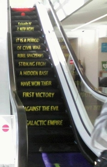 What I see whenever I look at an escalator