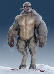 What I thought of when my girlfriend said abdominal snowman