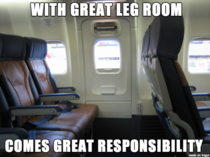 What I thought when the flight attendant told me I was responsible for the emergency door