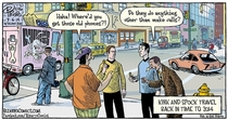 What Might Happen If Kirk and Spock traveled Back in Time to