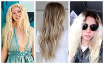 what my hair looked like - what I asked for - and how it turned out