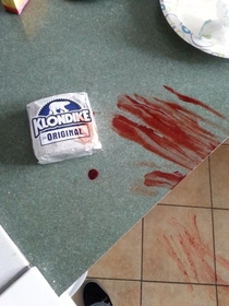 What the fuck did you do for a Klondike Bar