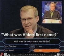 What was Hitlers first name