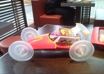 When boredom gets the better of you at McDonalds