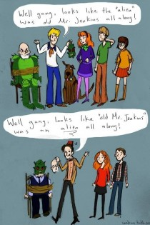 When Doctor Who and Scooby Doo collide