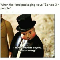 When food packaging says Serves - people xpost from rme_irl