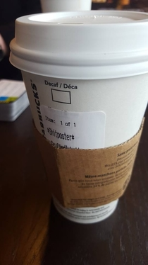 When GallowBoob goes to Starbucks
