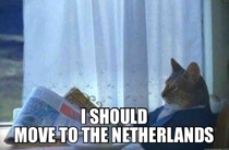 When I heard Netherlands shut down  prisons due to lack of prisoners