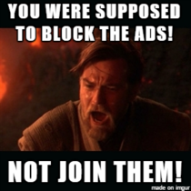 When I see ads by AdBlock while using AdBlock